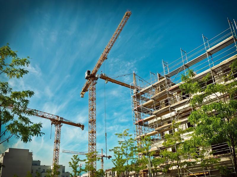 Apartment Construction at Heath City Rolls Along
