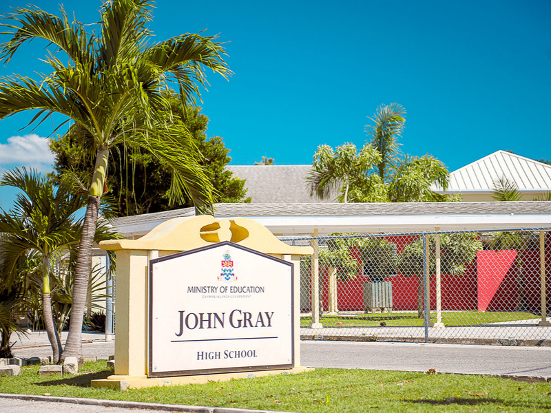 Cayman's John Gray High School Project Starts Up Again