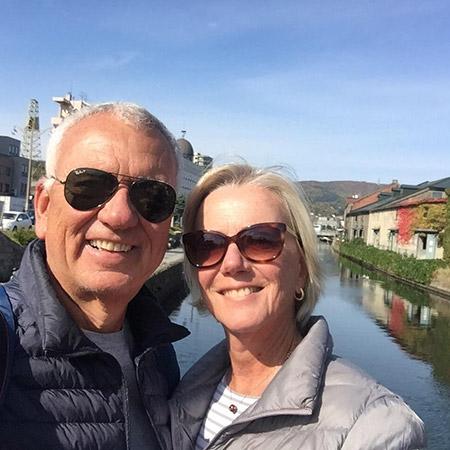Ines and Luiz Cogliati