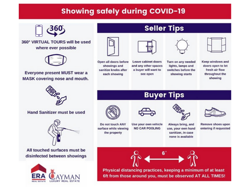 SHOWING SAFELY DURING COVID-19