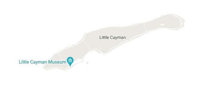 Little Cayman Map