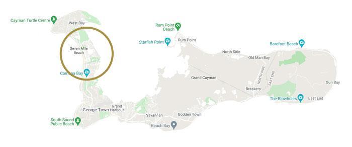 Seven Mile_Beach Map