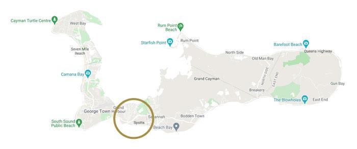 Spotts - Newlands Map