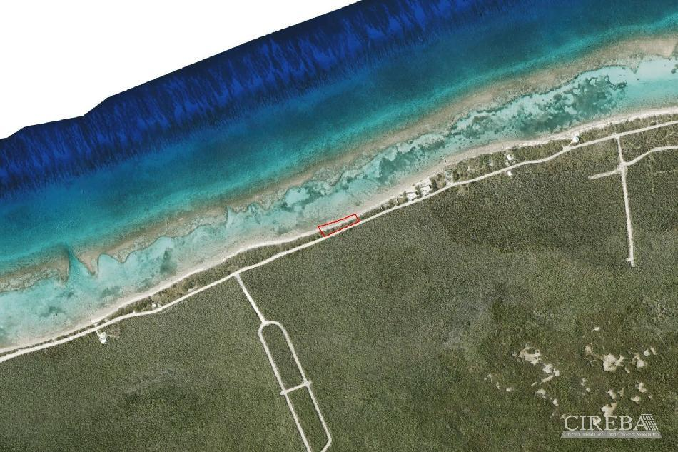 Waterfront beach interior land  little cayman