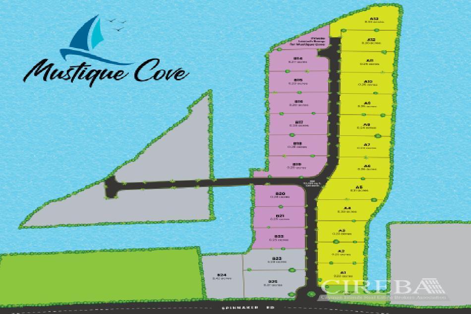 Mustique cove lot 18