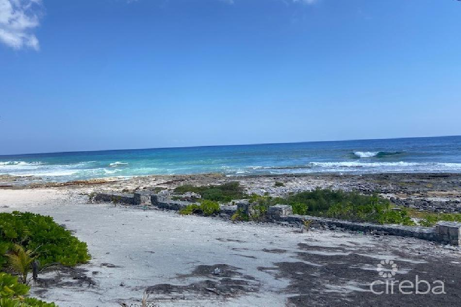Ocean front home cayman brac