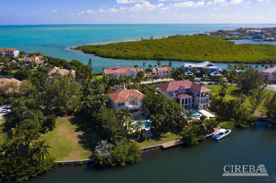 Yacht club executive home