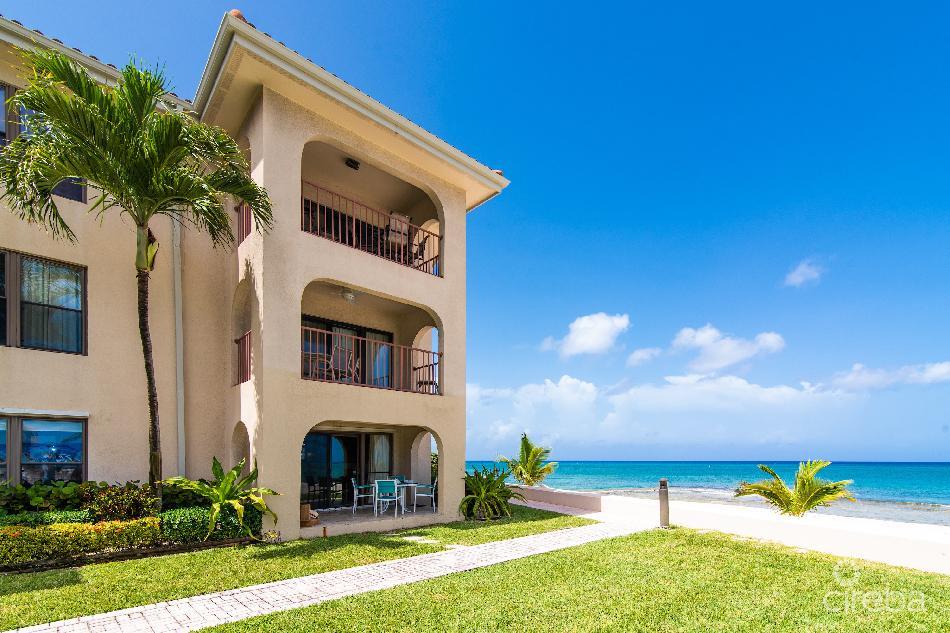 George town villas ground floor corner ocean front