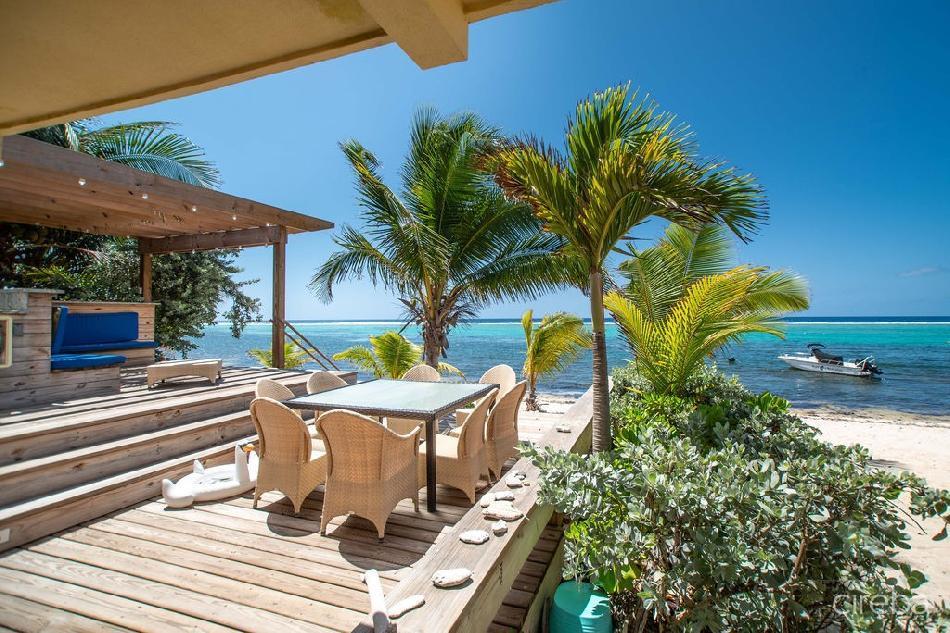 Caribbean paradise  rare beach front villa