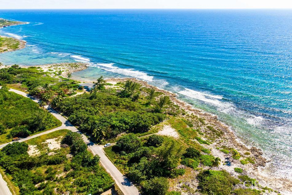 Pisces way beachfront lot with slab