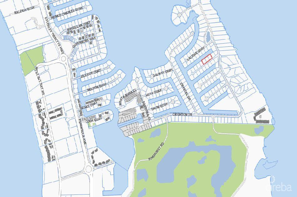 Rare crystal harbour – 3 lots  adjoining