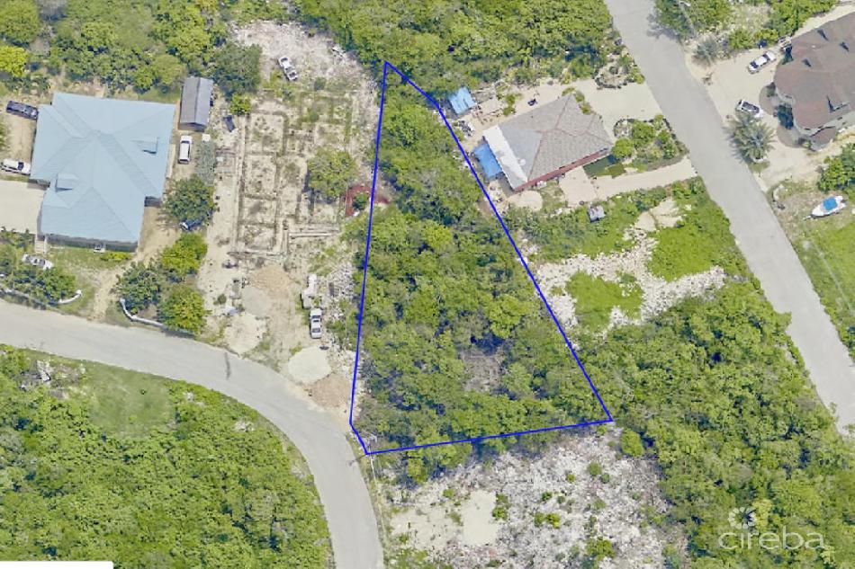 0.34 beach bay land with duplex plans