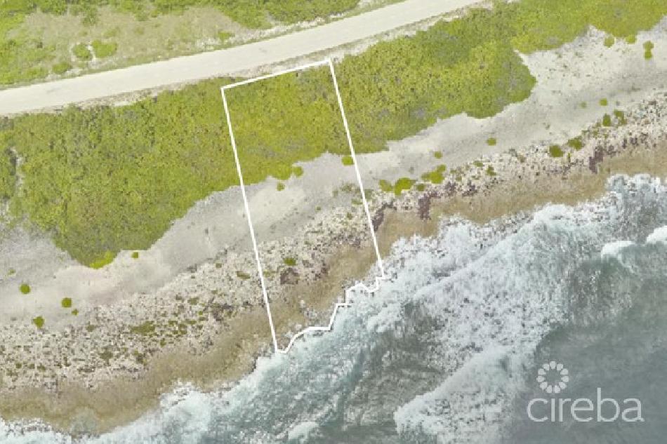 Beachfront parcel cayman brac