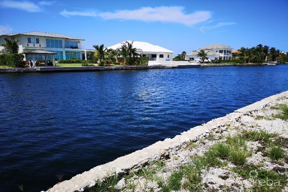 Crystal harbour corner canal lot – waterford quay – 0.4238 acres