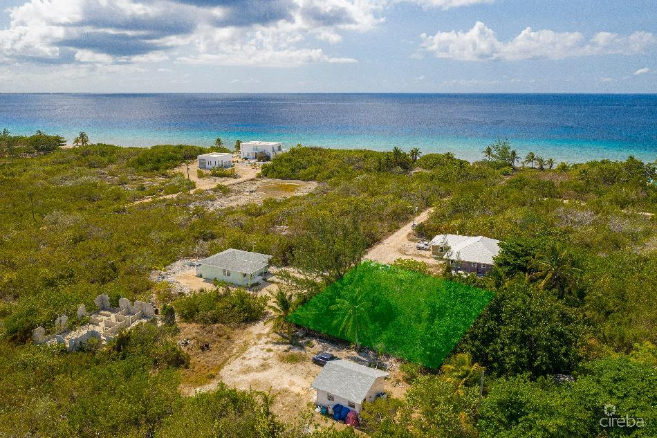 Cayman brac west plot