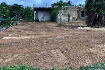 Land with partially built house