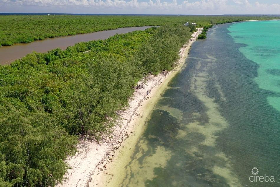 Little cayman sandy deep lot – close to point of sands