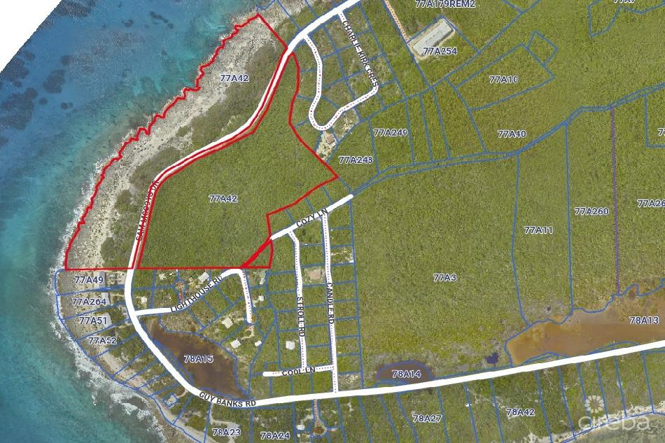 25 acre oceanfront hotel site – little cayman