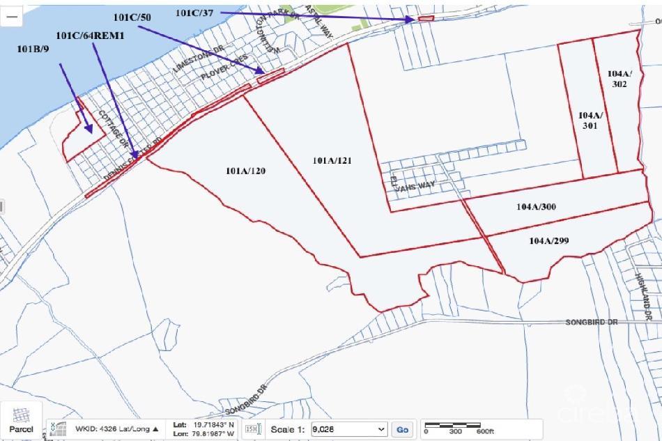 192 acres cayman brac – surrounding the power plant