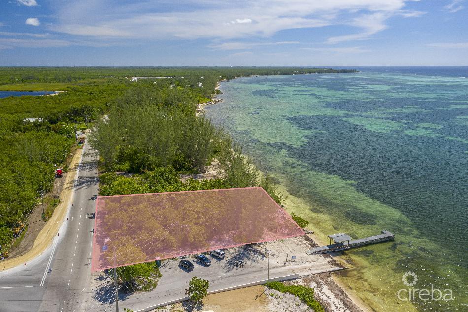 Seaview road beachfront land